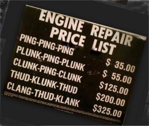 repair list