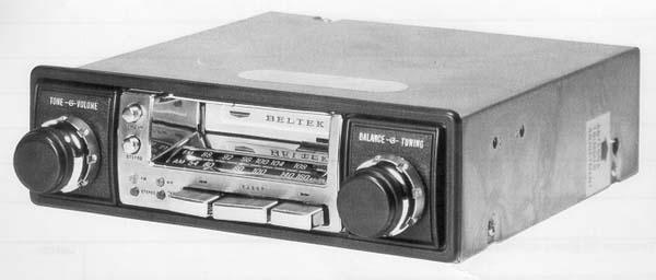 Bilkassettradio
