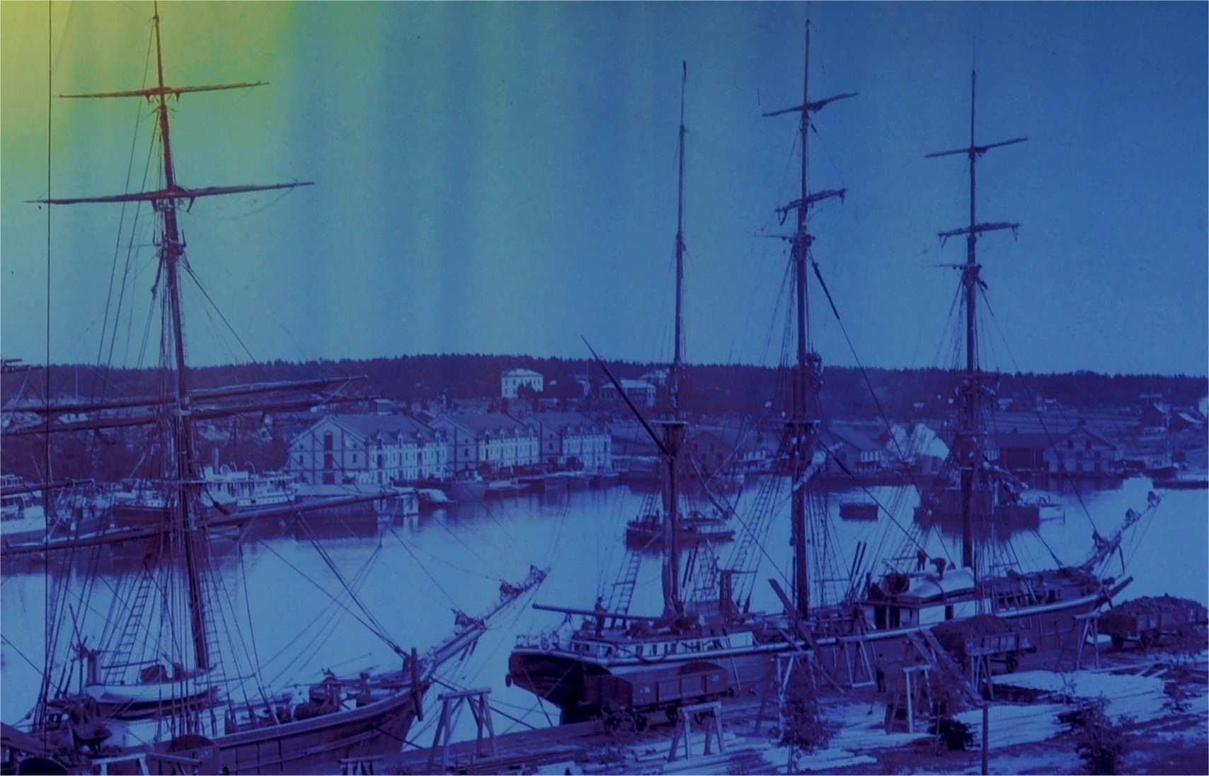 022 hudiks hamn 1900